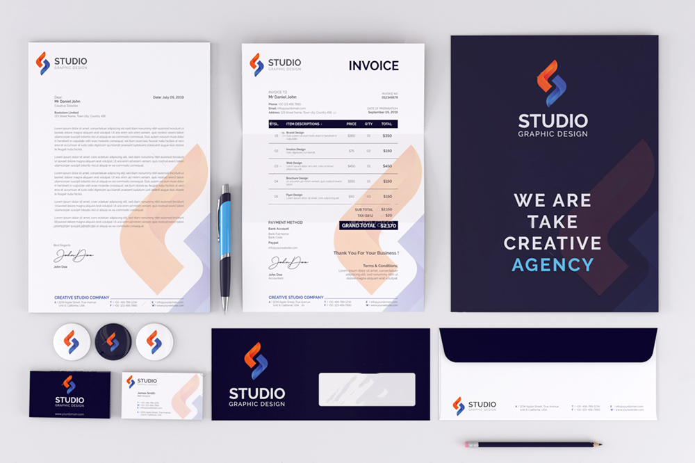 Top Branded Stationery Design Company