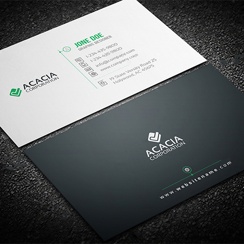 professional business card design company