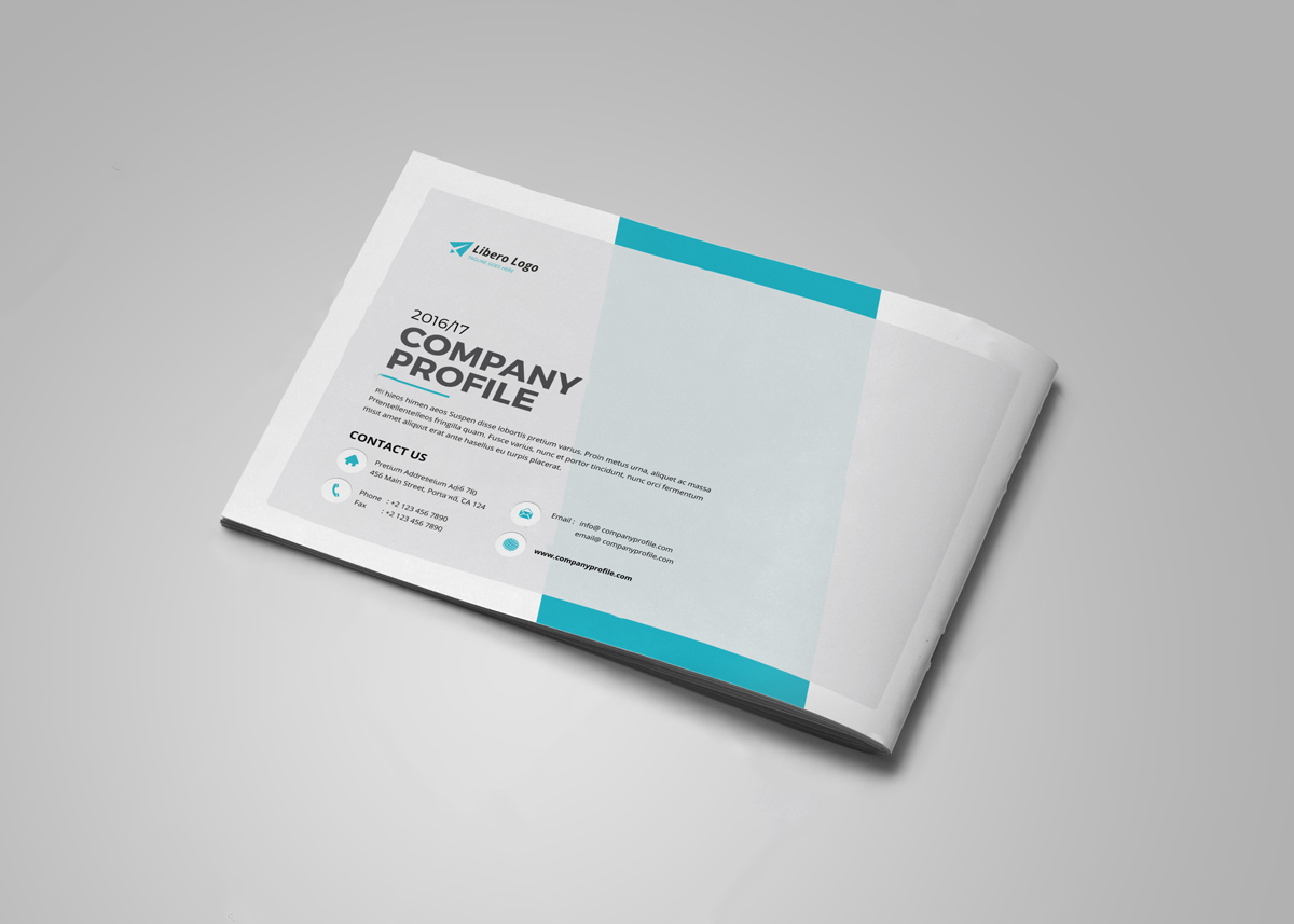 Creative Agency profile design