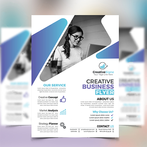 Creative Business Flyer Design