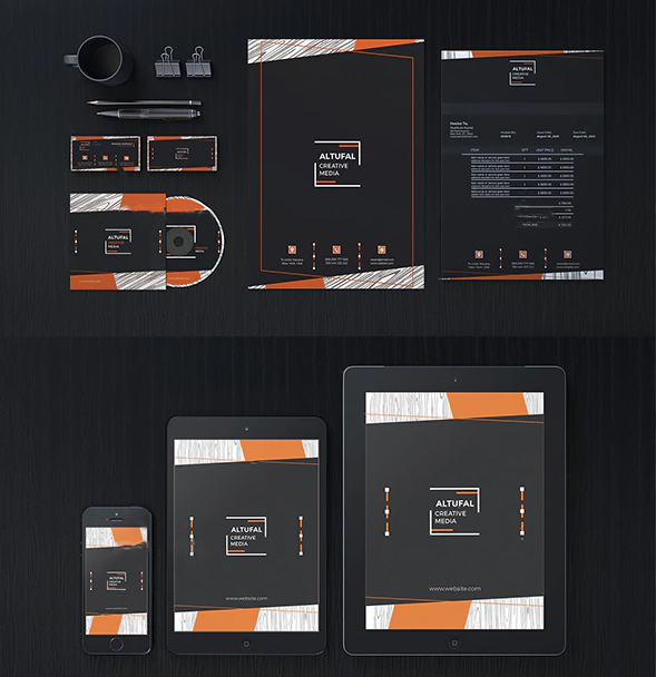 Custom Business Stationery Design services