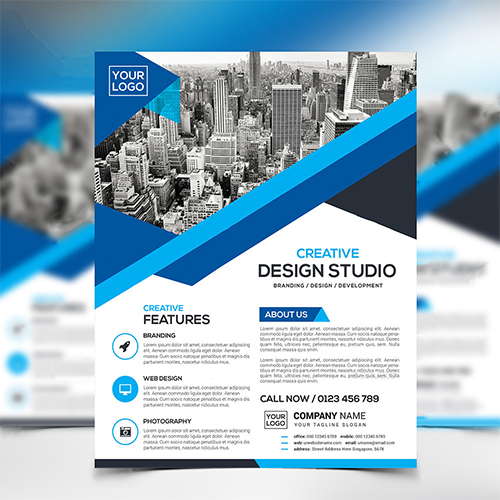 Design Studio flyer design