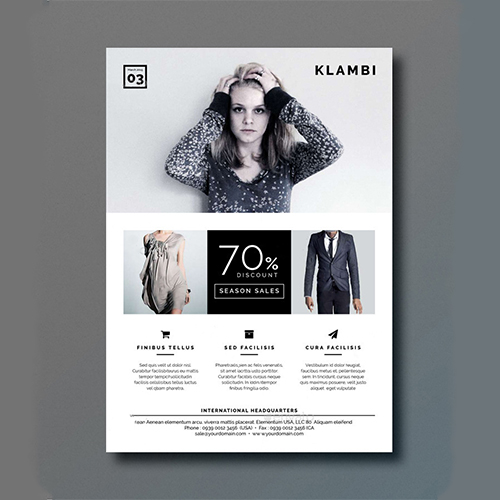 Best Fashion Flyer Design Service