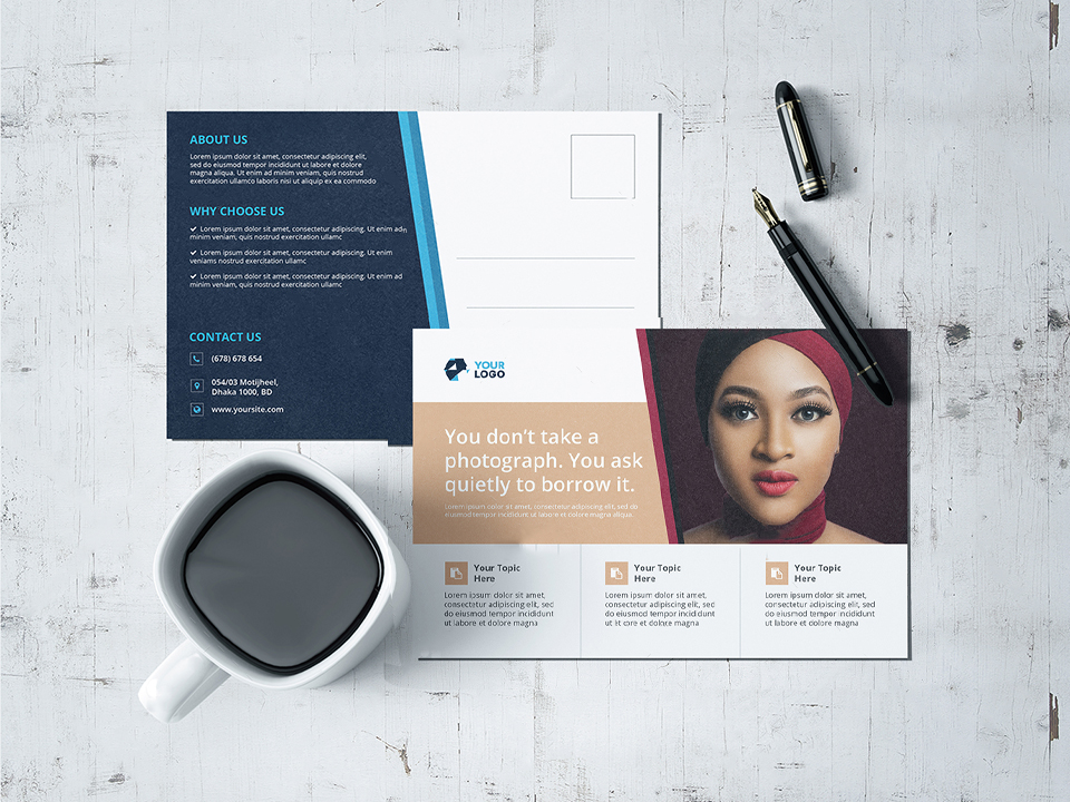 Top Business Post Card Designer