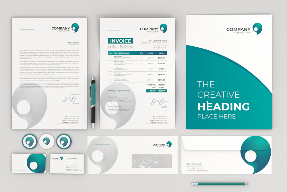 Top Company Stationery Design
